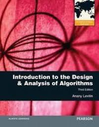 Image of Introduction to the design and analysis of algorithms